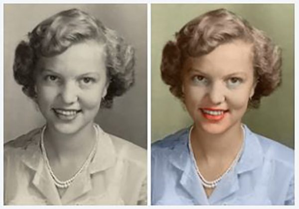 Example of Colorized Photo